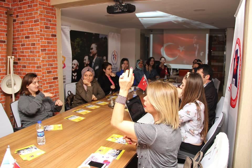 İşaret Dili Eğitimimizde İstiklal Marşı Çalışmamız