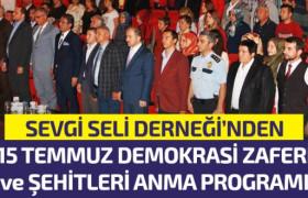 15 Temmuz Demokrasi Zaferi ve Şehitlerini Unutmadı