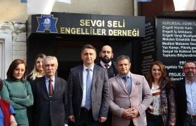 Ümraniye Kaymakamı Sn. Suat Dervişoğlu dan Sevgi Seline anlamlı iyaret