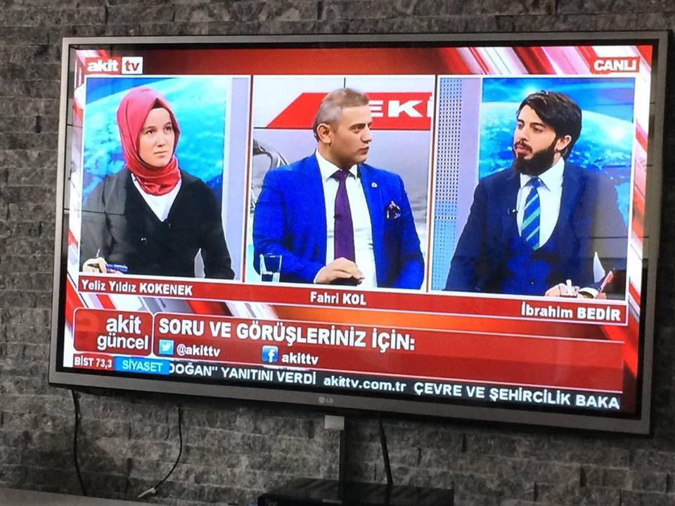 Akit Tv Kanalında Genel Başkanımız Sn.Îbrahim bedir beyin konugu oldu.