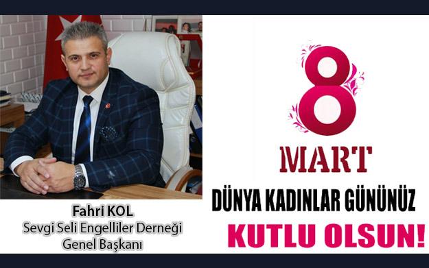 Genel Başkanımızın 8 Mart Dünya Kadınlar Günü mesajı