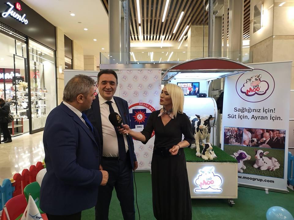 Sevgi Seli Derneği Ankara KentPark AVM de tanıtım programı