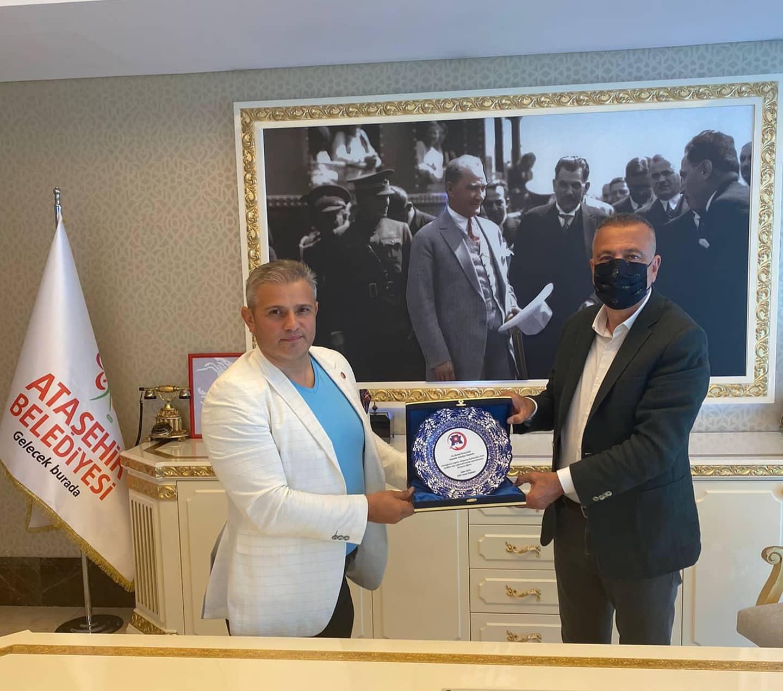 Ataşehir Belediye Başkanına Ziyaret